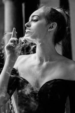 Adèle Belem danseuse séance photo fumeuse photographe de rouen ludivine fleury