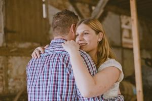 Amandine et Geoffrey séance engagement somme amiens mariage champêtre photographe rouen ludivine fleury