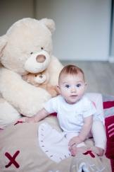 Photo de bébé rouen séance lifestyle photographe de rouen ludivine fleury