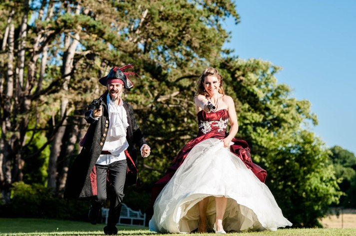 Mariage thème pirate