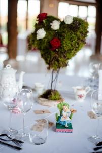 Mariage Disney, table Alice au pays des merveilles